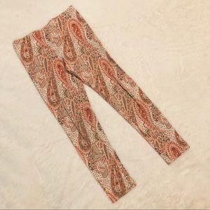 OLD NAVY Paisley Printed Leggings